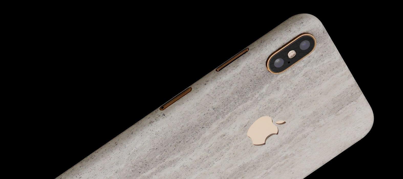 iPhone XS Concrete Skins