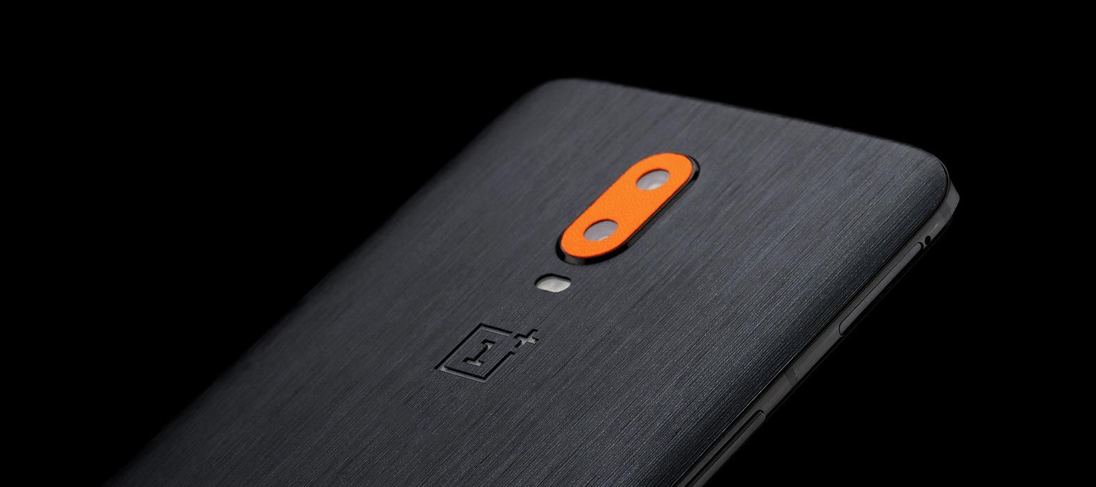 OnePlus 6T Brushed Graphite Skins