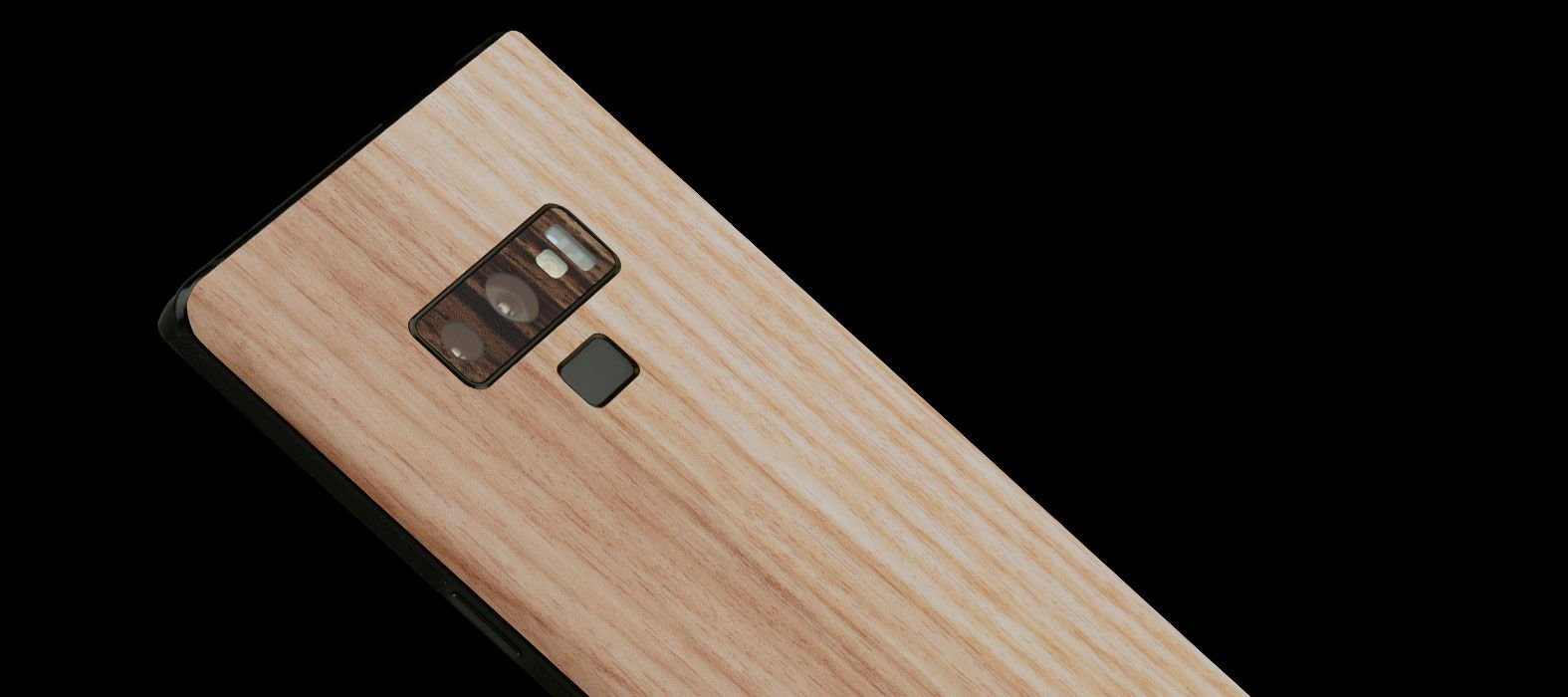 Galaxy Note 9 Bamboo Wood Skins