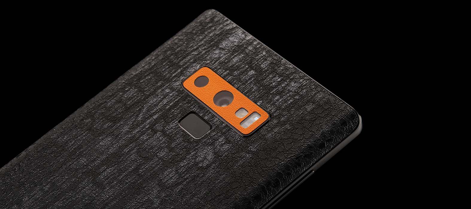 Galaxy Note 9 Black Raptor Skins