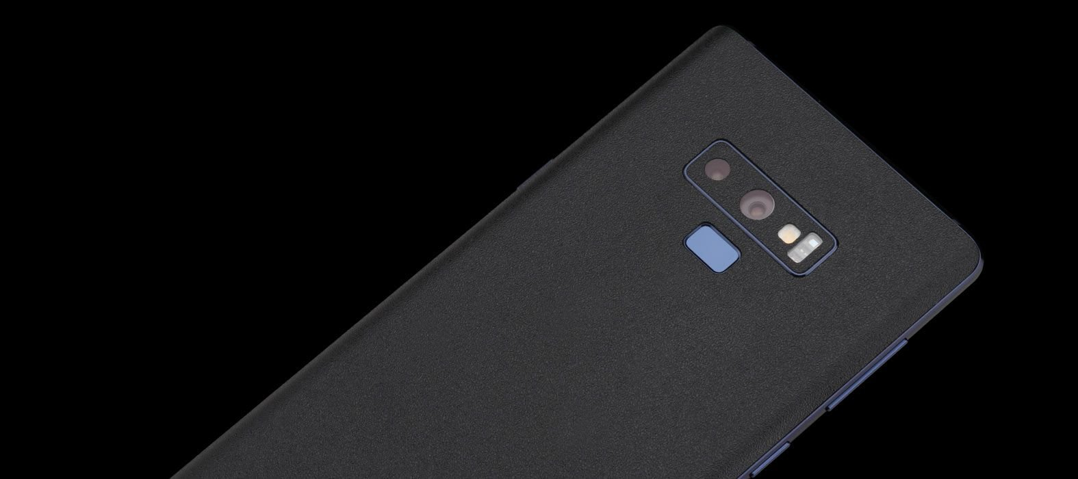 Galaxy Note 9 Black Sandstone Skins