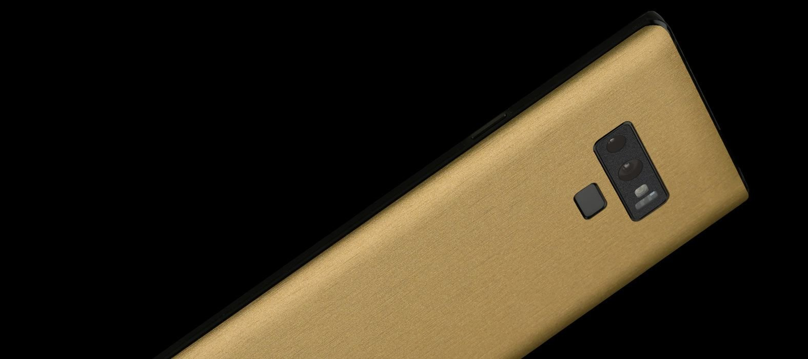 Galaxy Note 9 Brushed Gold Skins