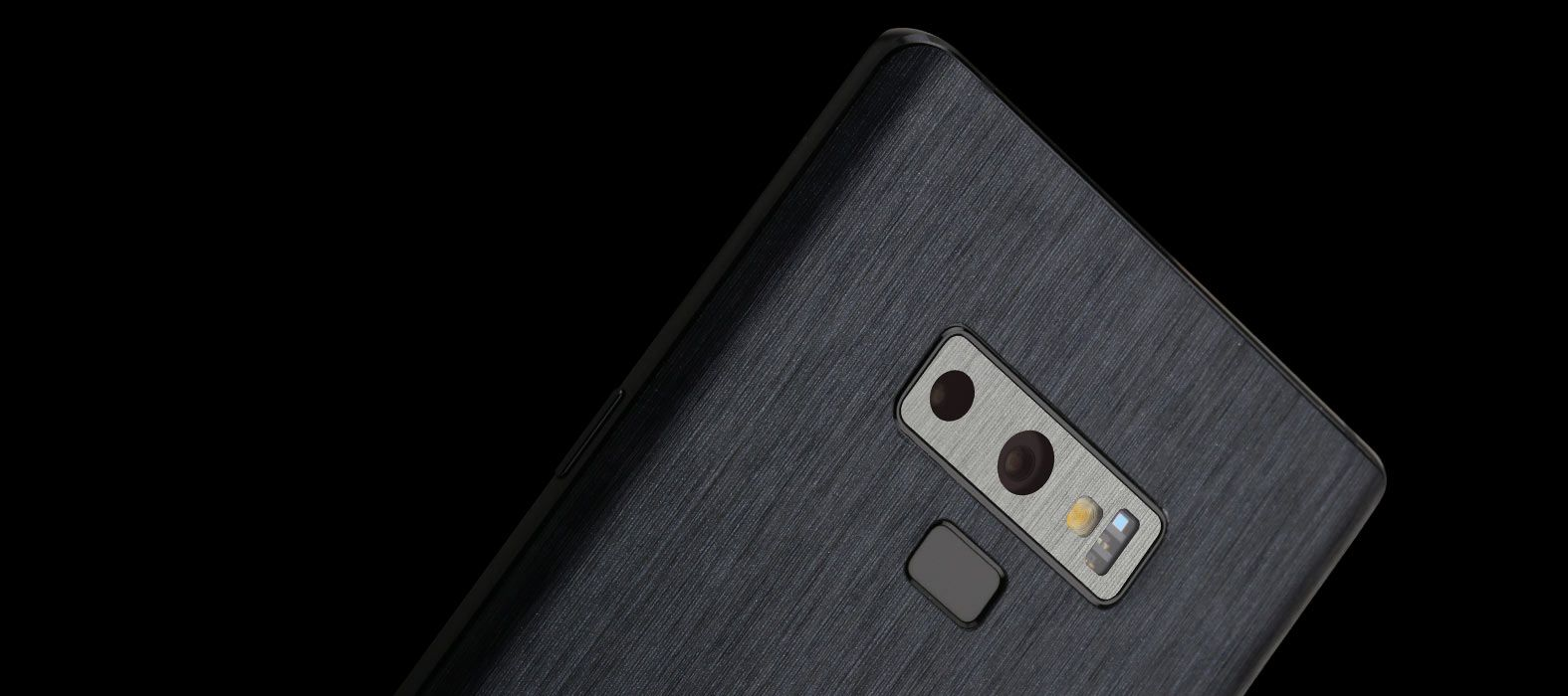 Galaxy Note 9 Brushed Graphite Skins