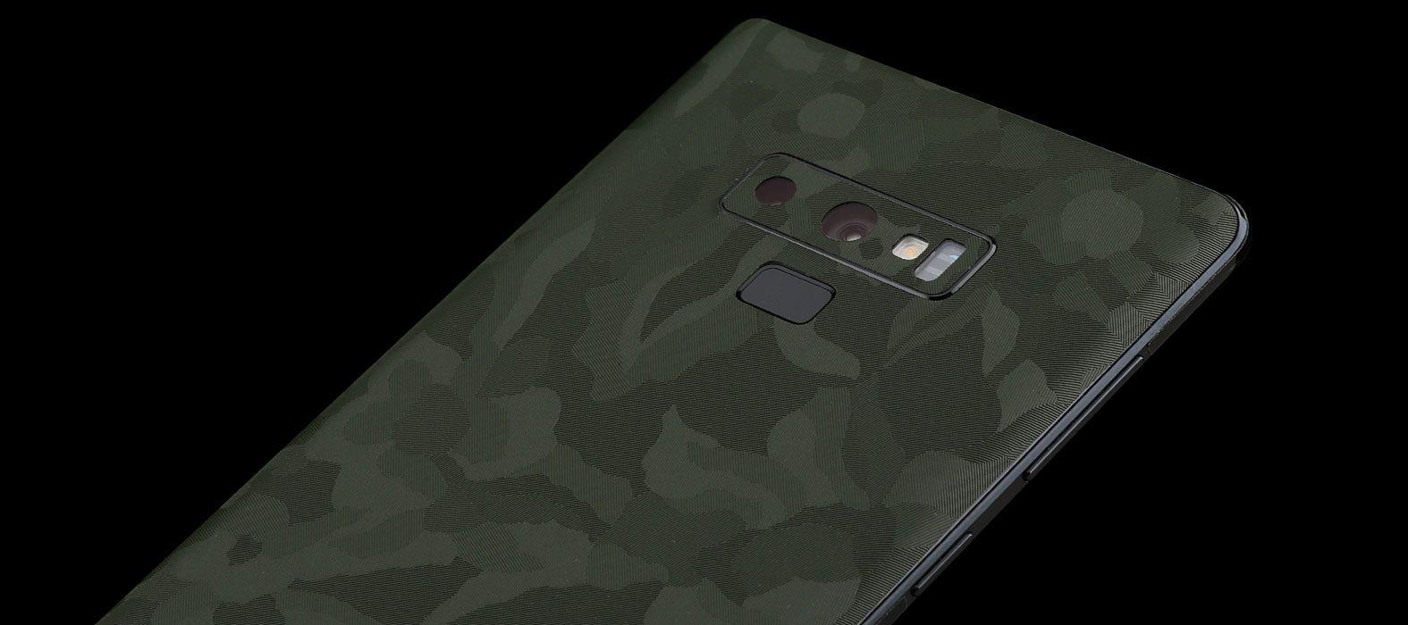 Galaxy Note 9 Green Camo Skins