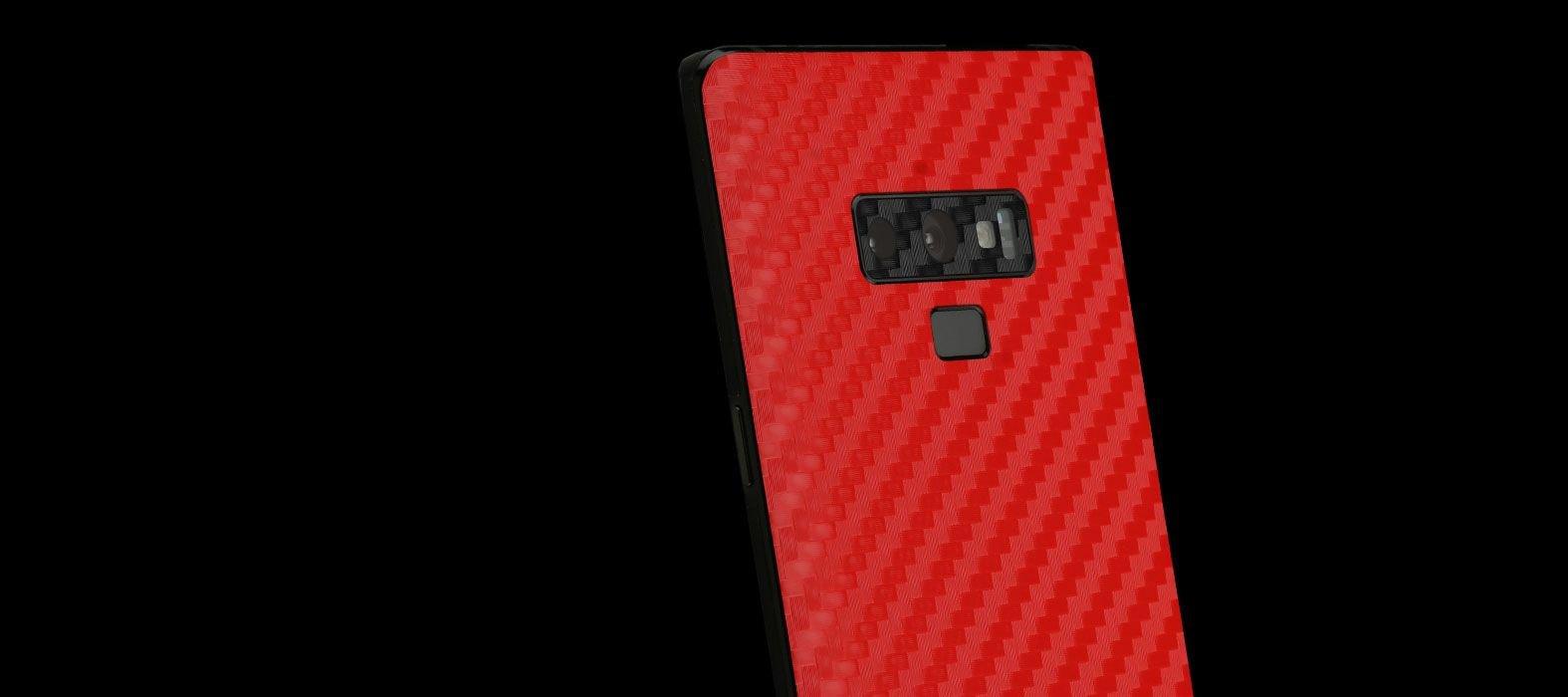 Galaxy Note 9 Red Sandstone Skins