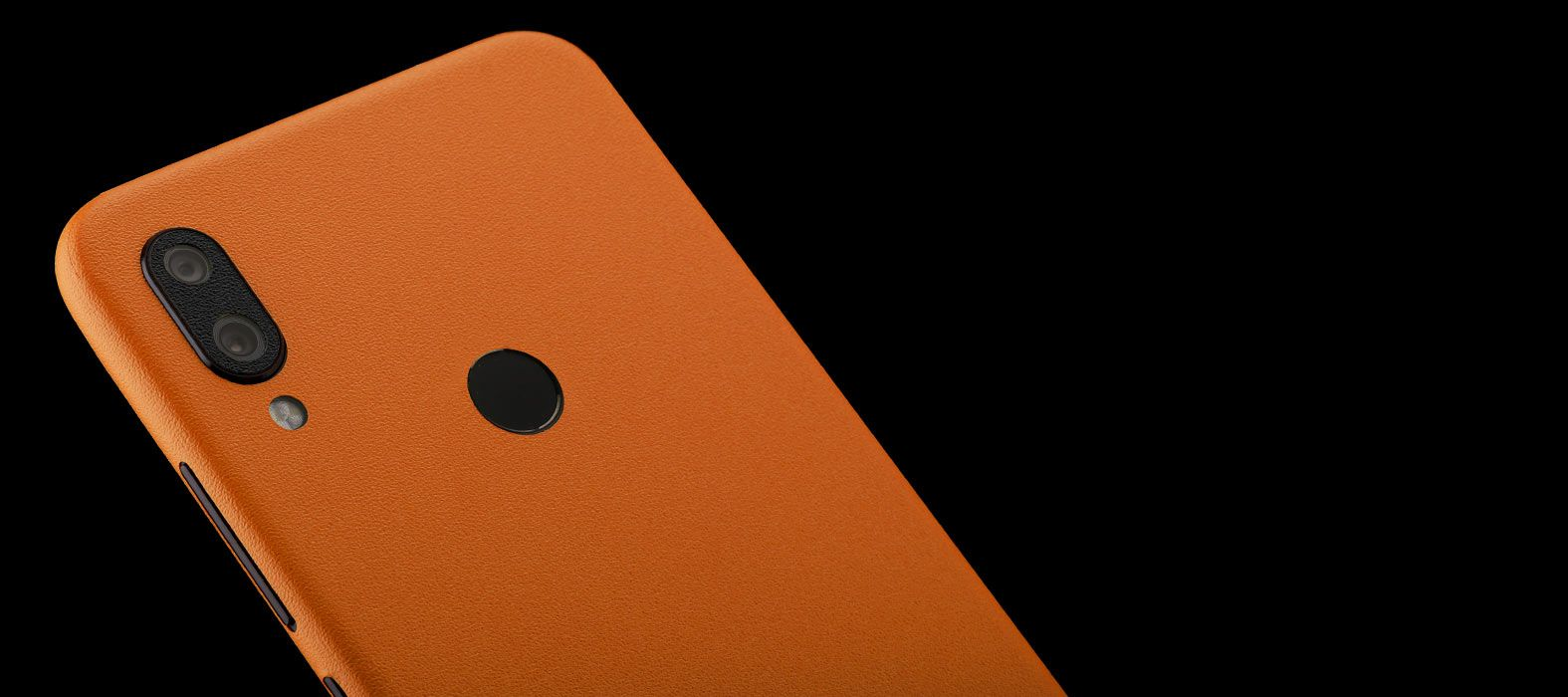 Redmi-note-7_Orange-Sandstone_Skins