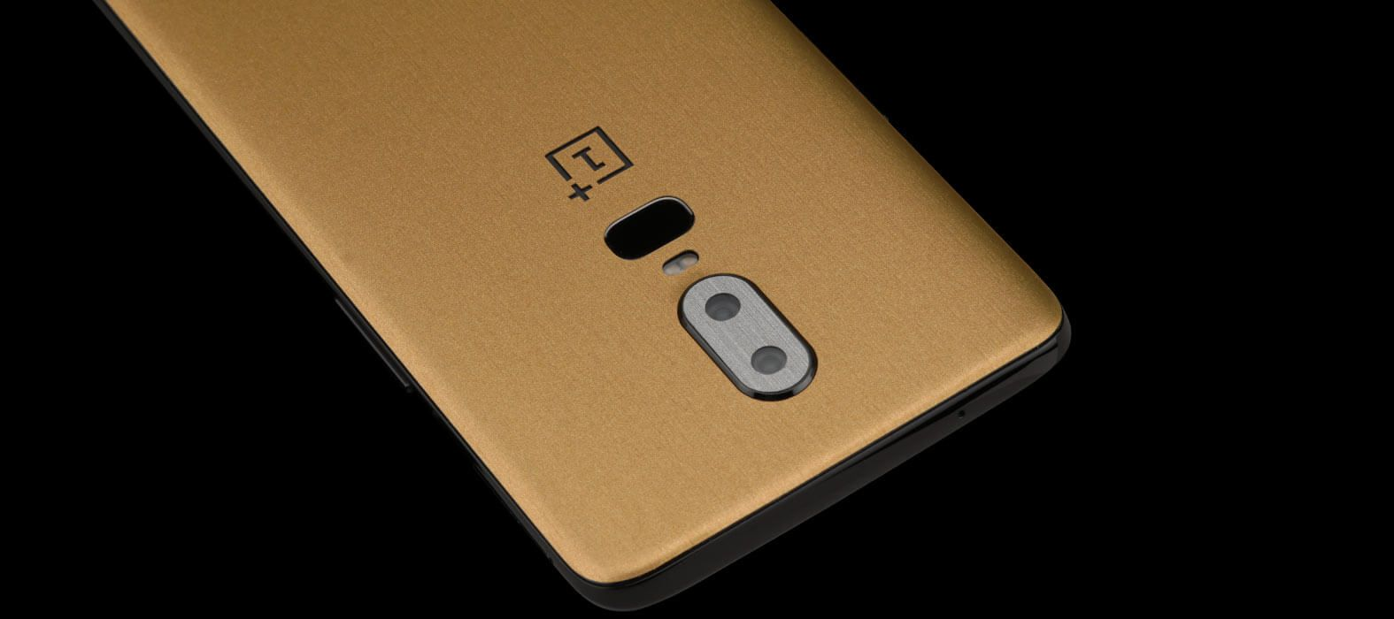 Oneplus-6_Brushed-Gold_Skins