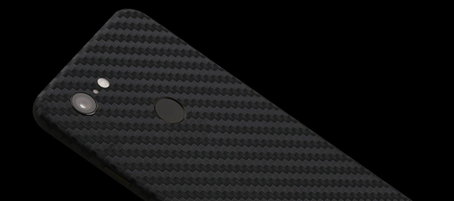 Pixel-3-XL_Black-Carbon-Fiber_Skins