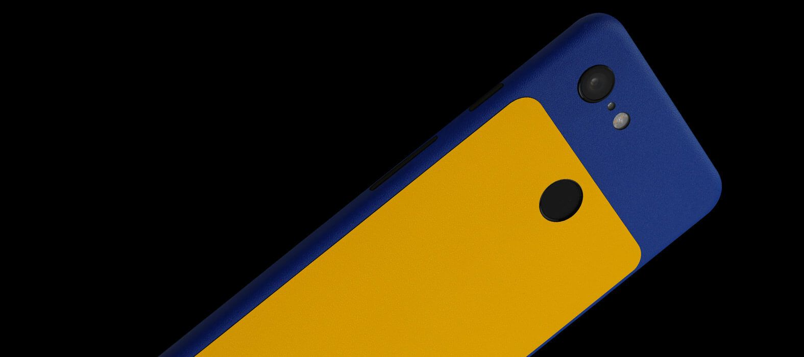 Pixel-3-XL_Blue-With-Yellow-Sandstone_Skins