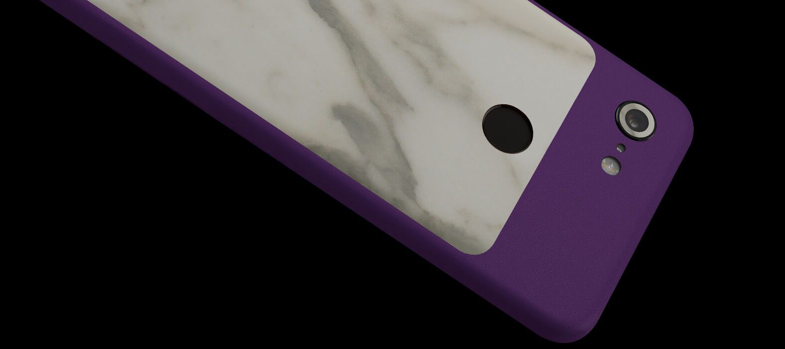 Pixel-3-XL_Purple-With-White-Marble_Skins