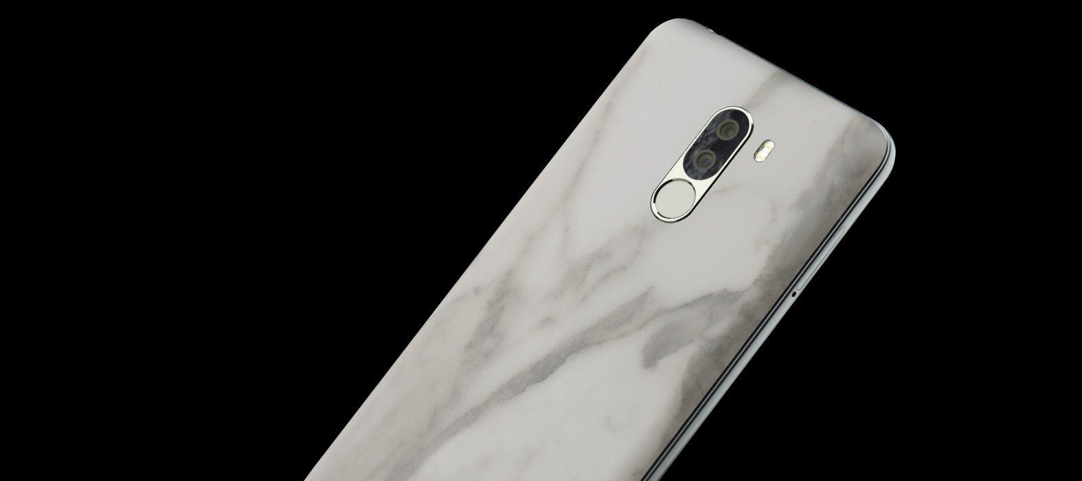 Poco-F1s_White-Marble_Skins