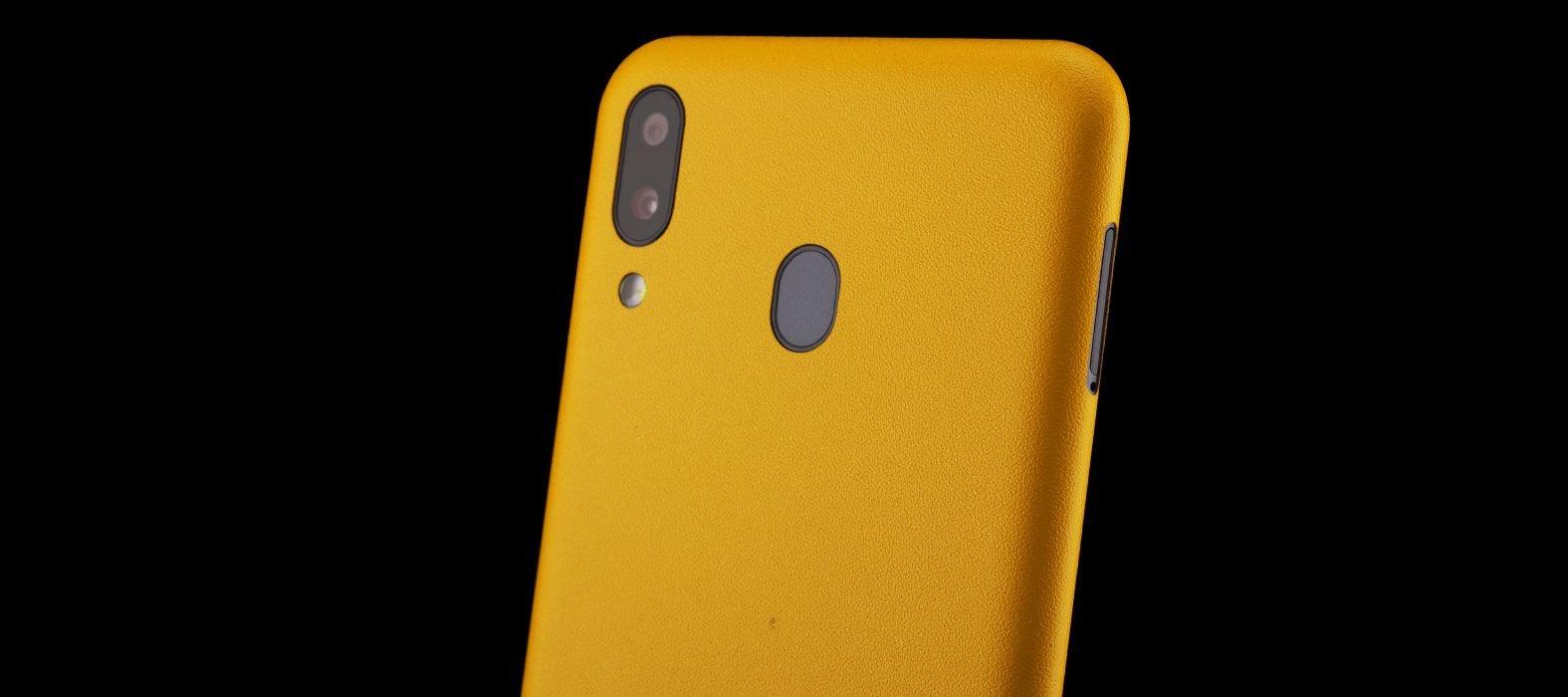 galaxy-m20_Yellow-Sanstone_Skins