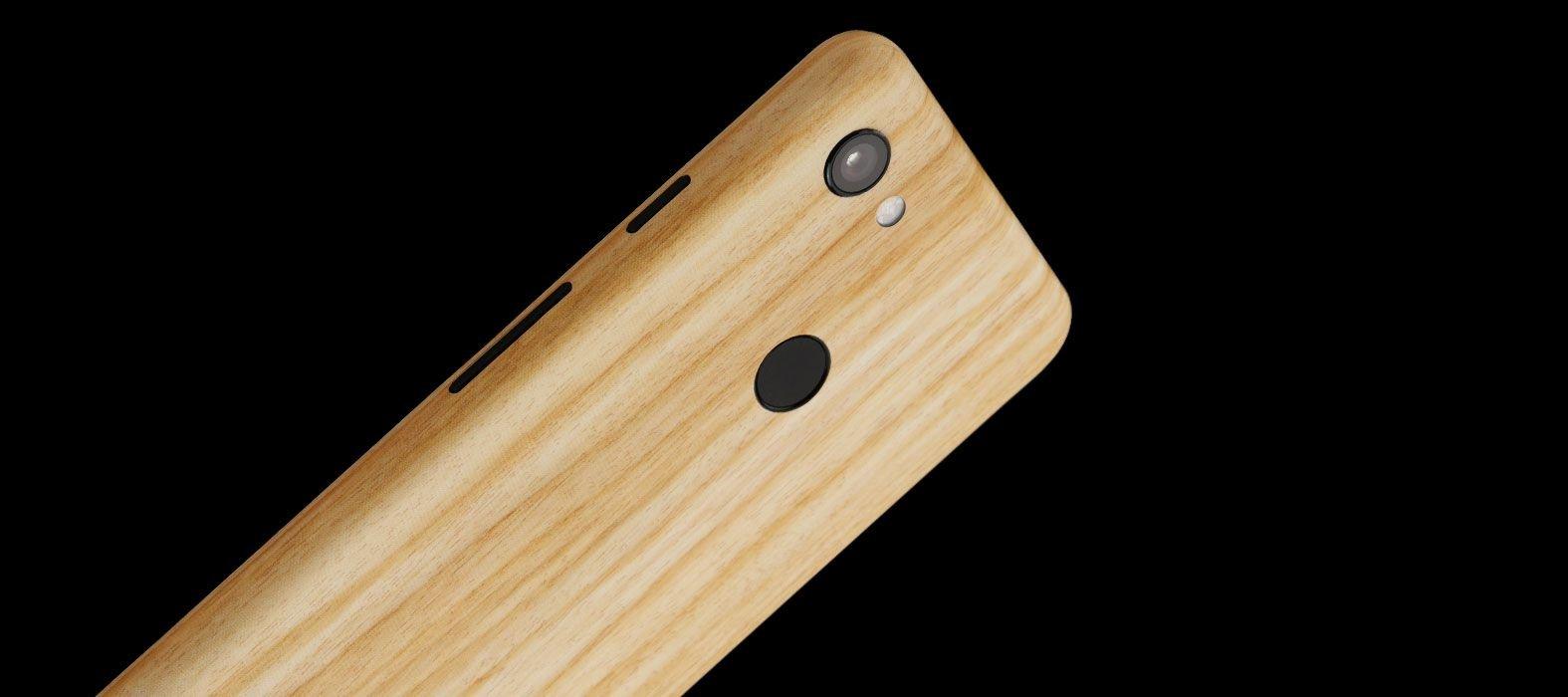 Pixel-3a-Bamboo-wood-skins
