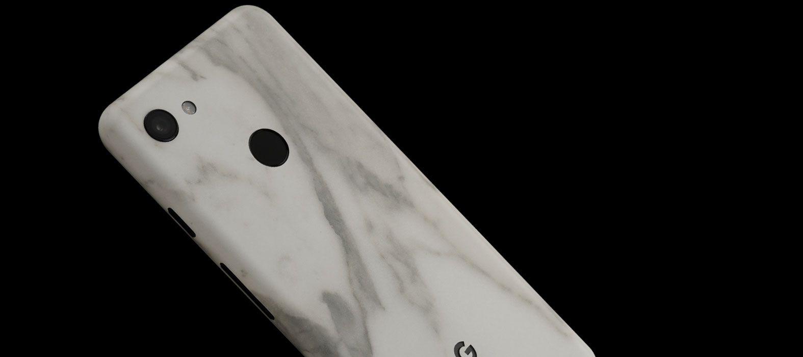 Pixel-3aXL-White-Marble--skins