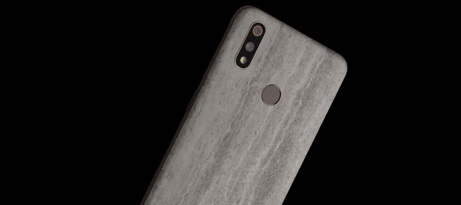 Realme 3 Pro Concrete Skins
