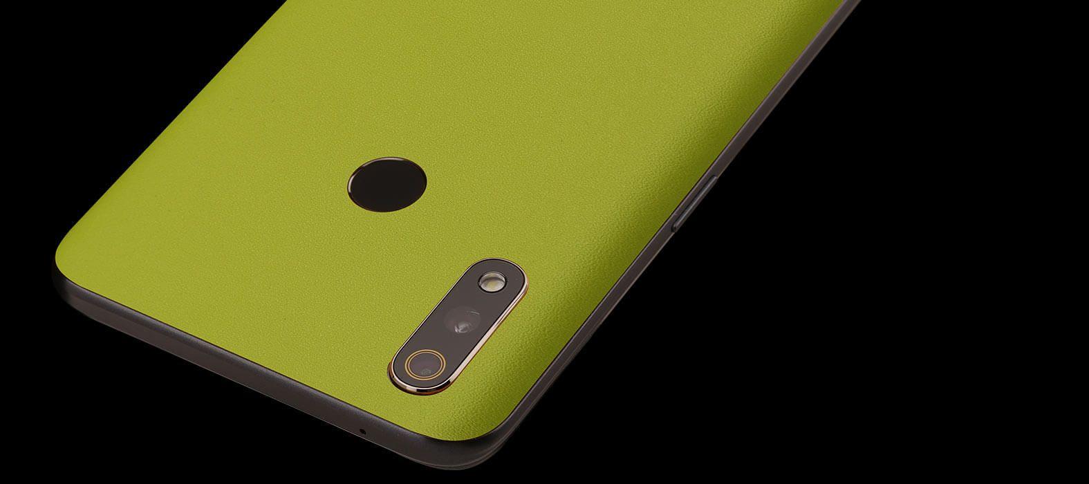 Realme 3 Pro Neon Sandstone Skins