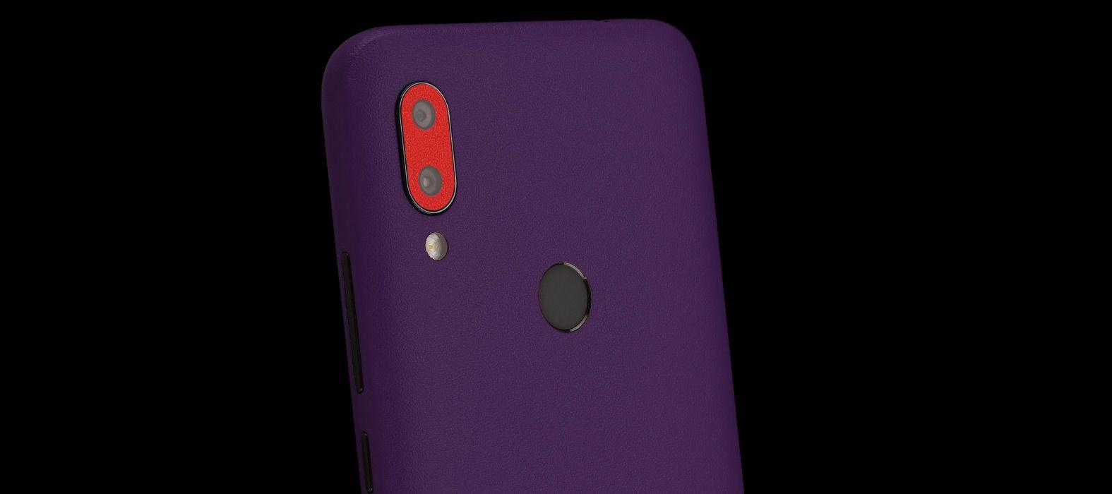 Redmi 7 Purple sandstone Skins