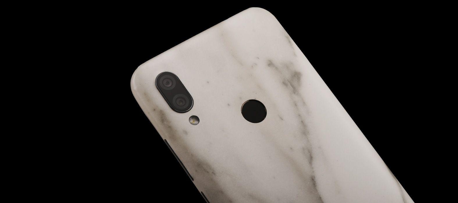 Redmi 7 White Marble Skins