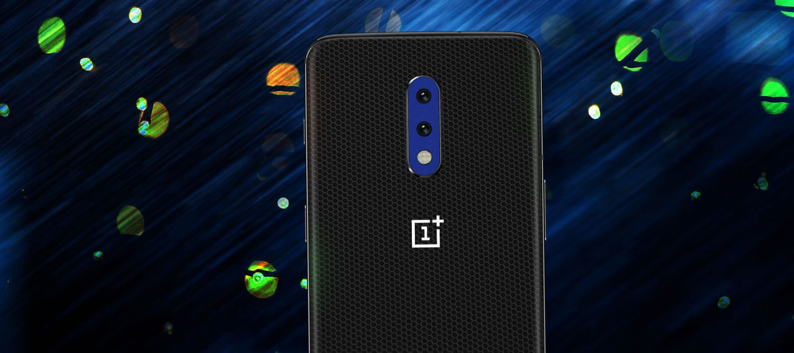OnePlus 7 Black Matrix Skins