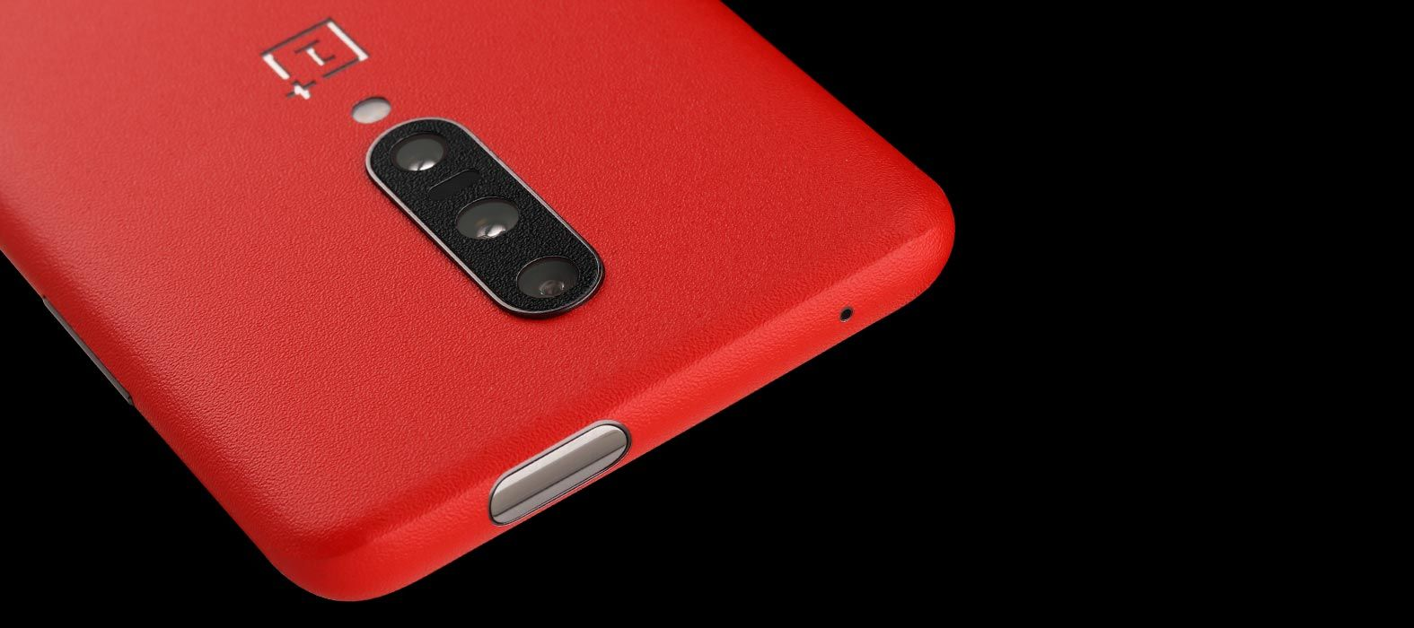 Oneplus 7 Pro Red Sandstone Skins