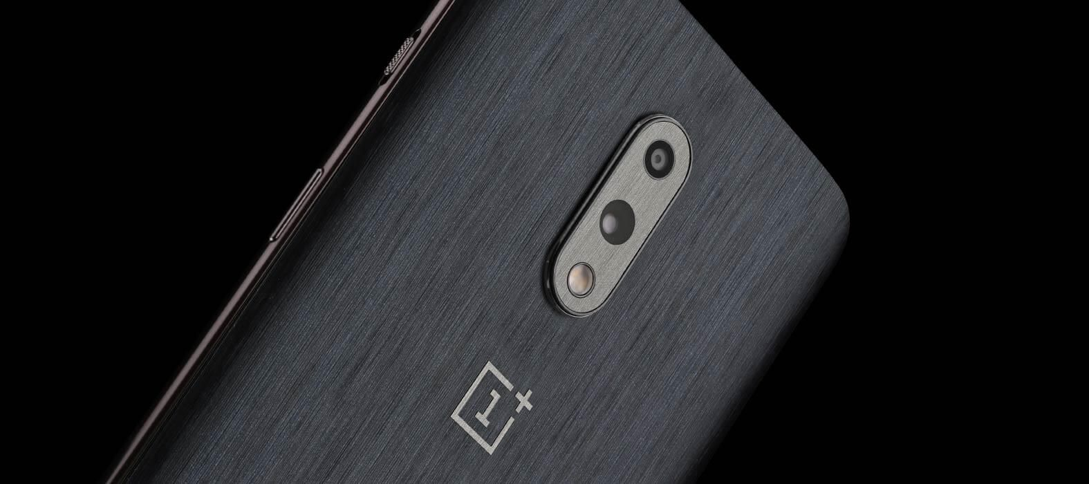 Oneplus 7 Brushed Graphite Skins