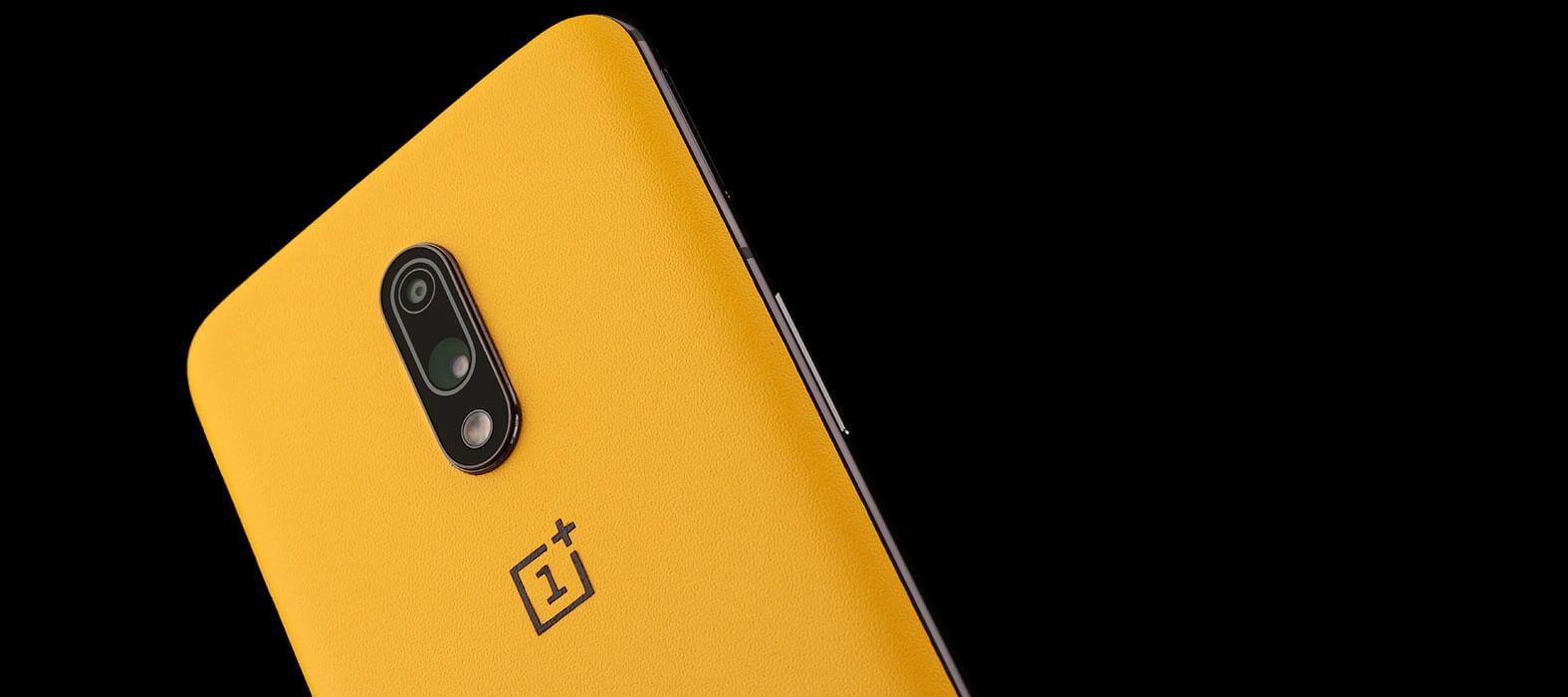 OnePlus 7 Yellow Sandstone Skins