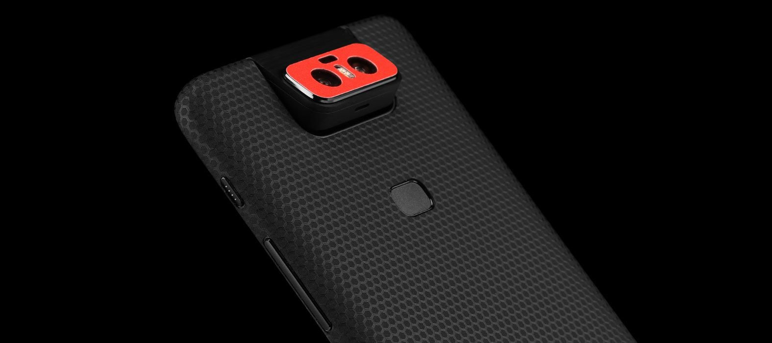 Asus Zenfone 6Z Black Matrix Skins