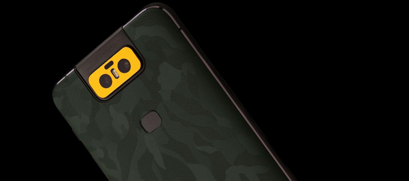 Asus Zenfone 6Z Green Camo Skins