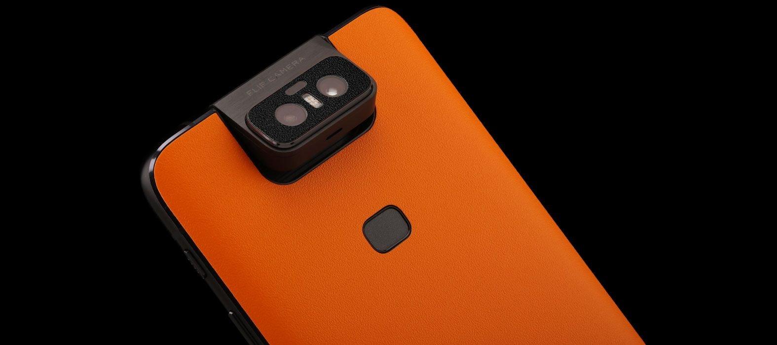 Asus Zenfone 6Z Sandstone Orange Skins