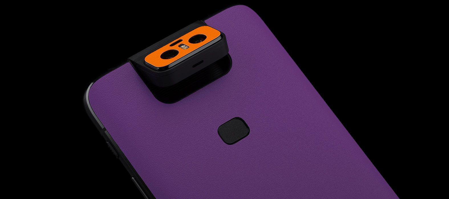 Asus Zenfone 6Z Sandstone Purple Skins