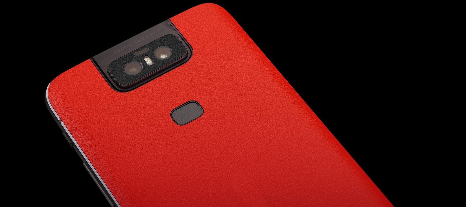 Asus Zenfone 6Z Sandstone Red Skins