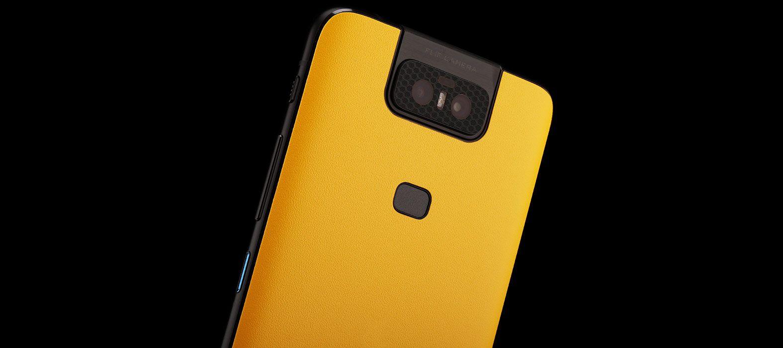 Asus Zenfone 6Z Sandstone Yellow Skins