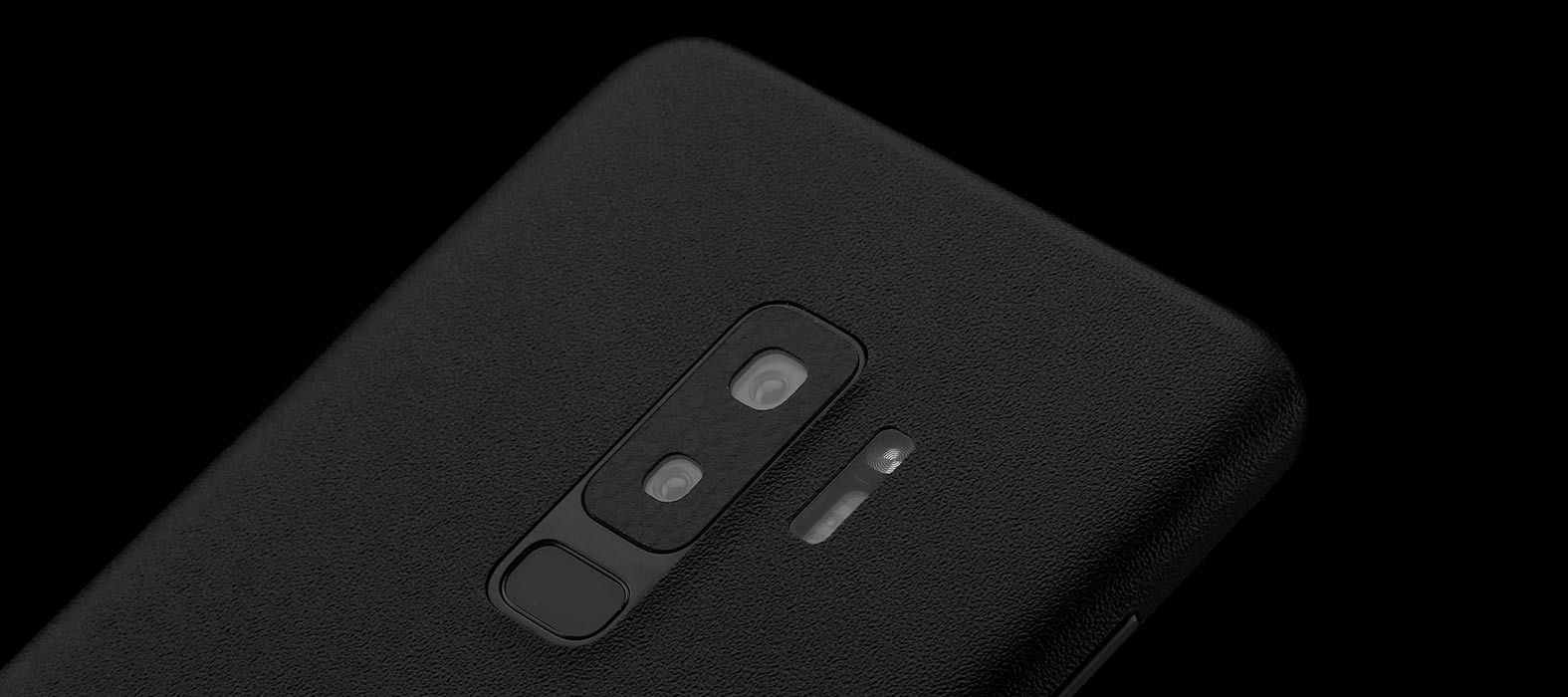 Galaxy S9 Plus Sandstone Black Skins