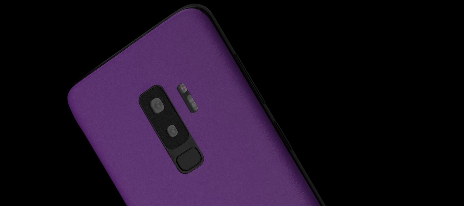 Galaxy S9 Plus Sandstone Purple Skins