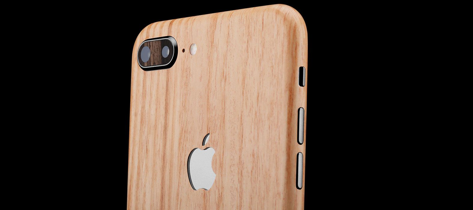 iPhone 8 Plus Bamboo Wood Skins