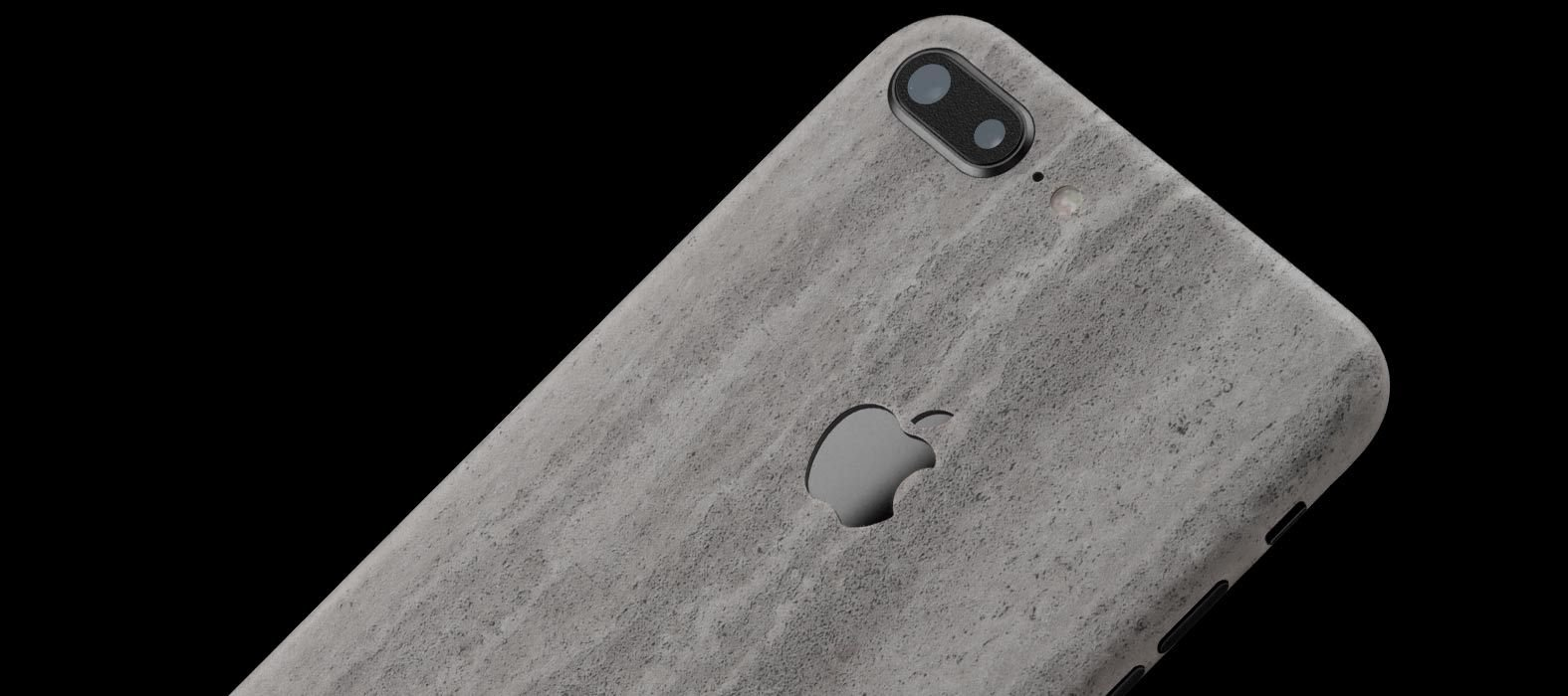 iPhone 8 Plus Concrete Skins