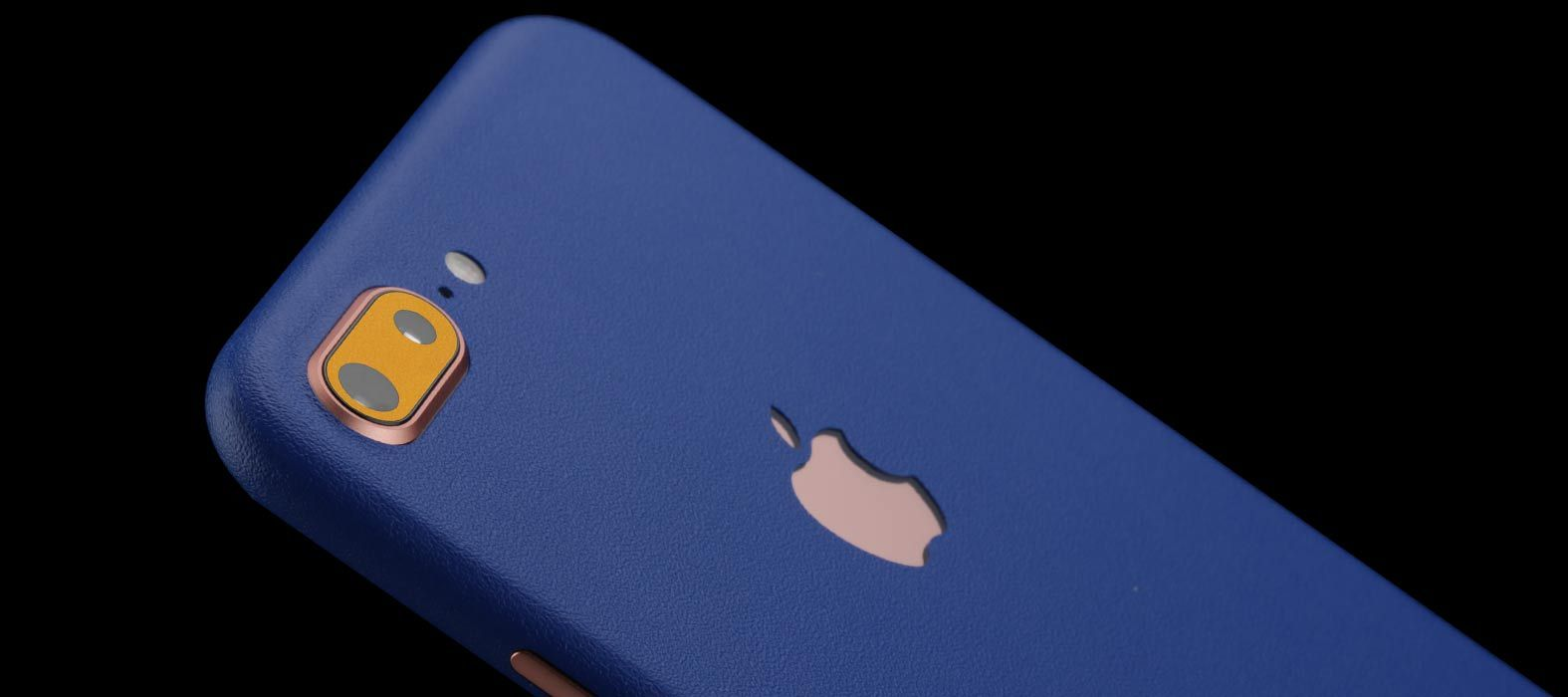 iPhone 8 Plus Sandstone Blue Skins