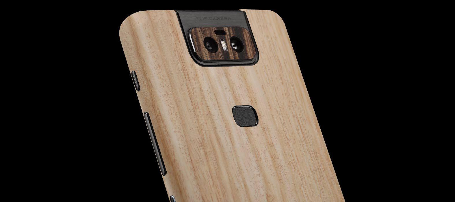 Asus Zenfone 6Z Bamboo Wood Skins