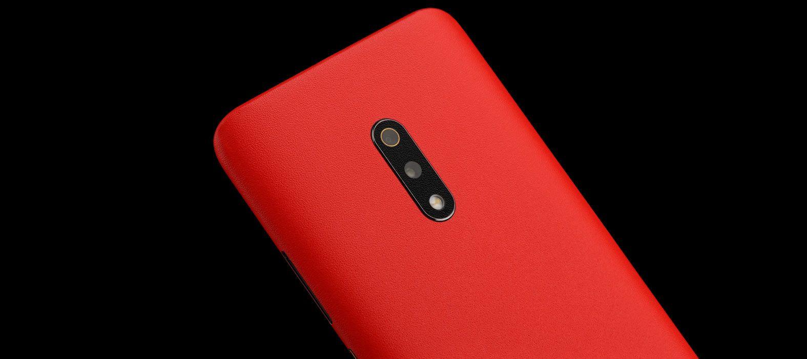 Realme X Sandstone Red Skins