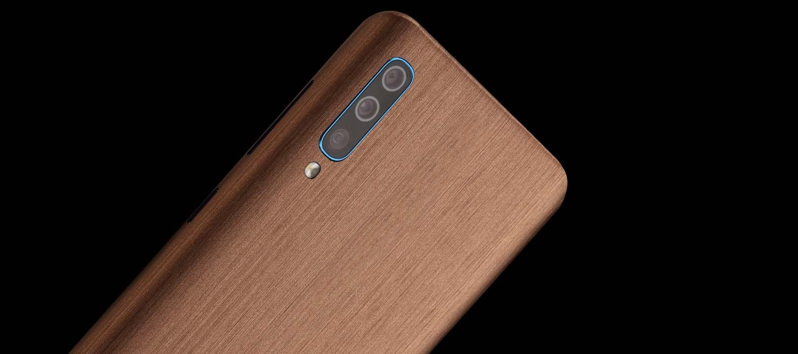 Galaxy A50 Brushed Copper Skins