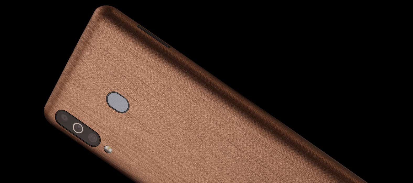 Galaxy M30 Brushed Copper Skins