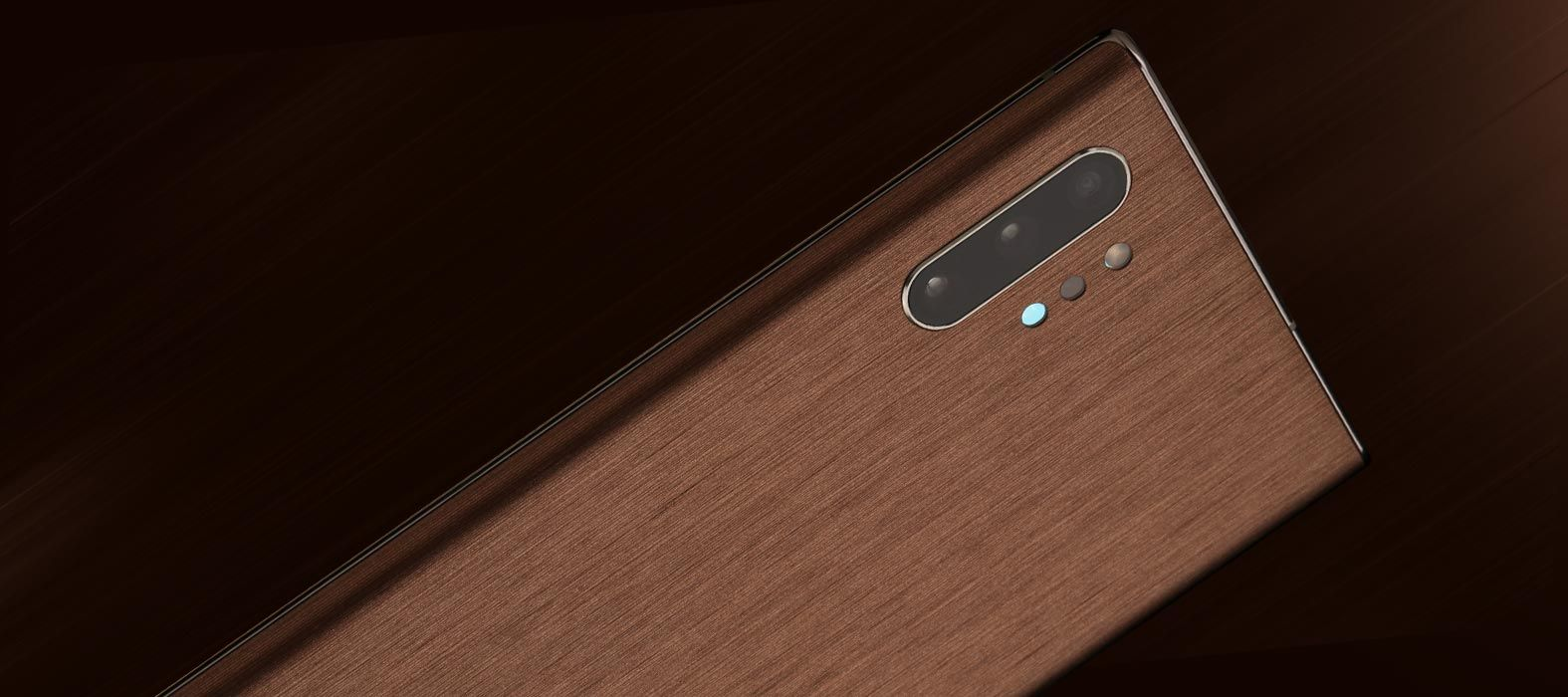 Galaxy Note 10 Plus Brushed Copper Skins