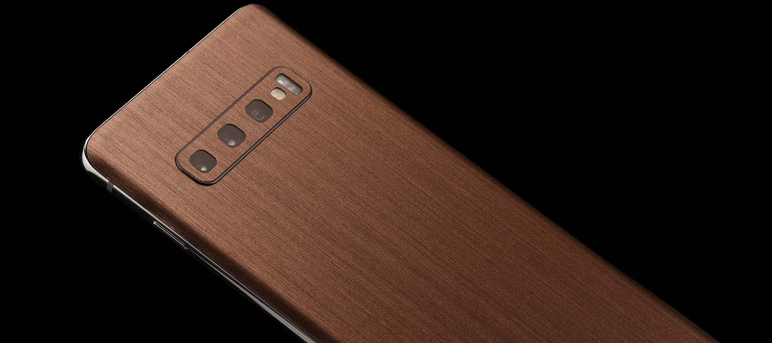 Galaxy-S10-Plus-Brushed-Copper-Skins