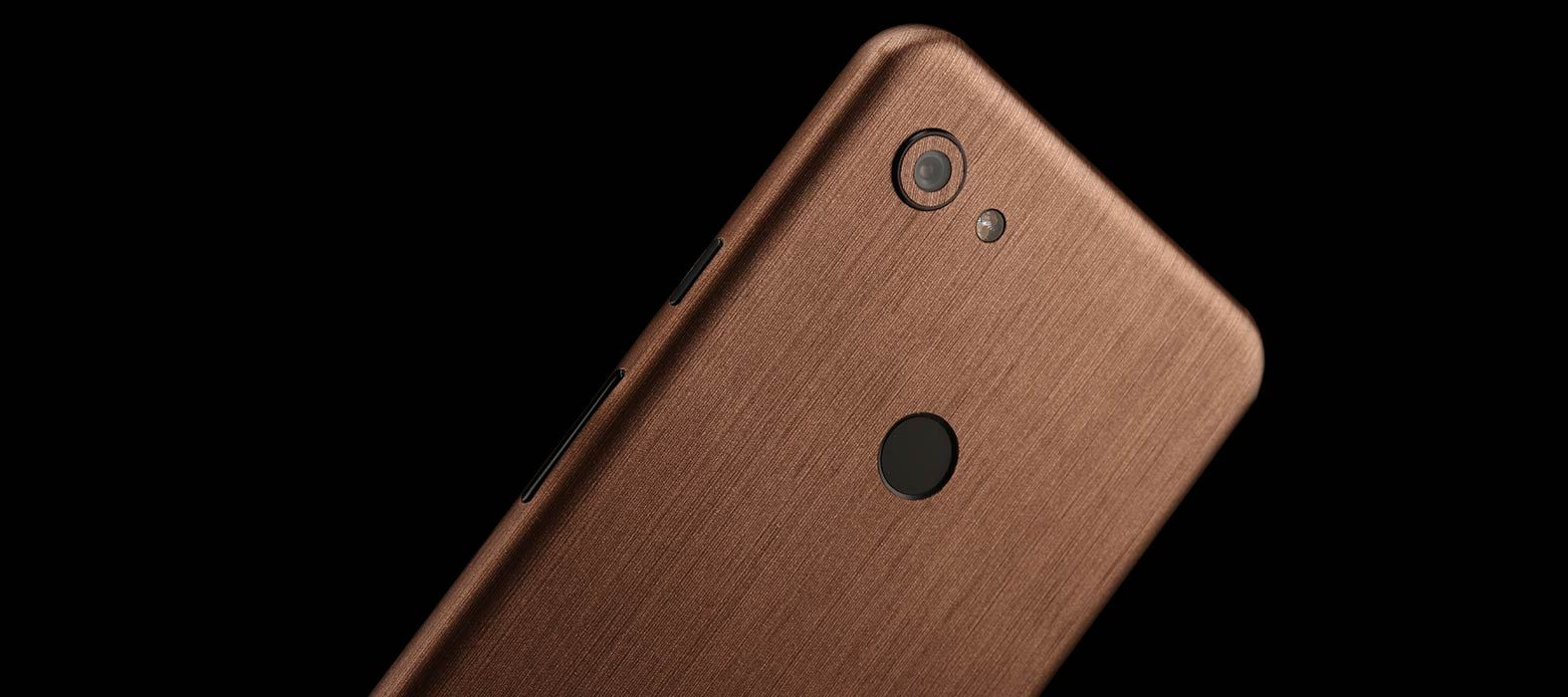 Pixel-3A-Brushed-Copper-Skins