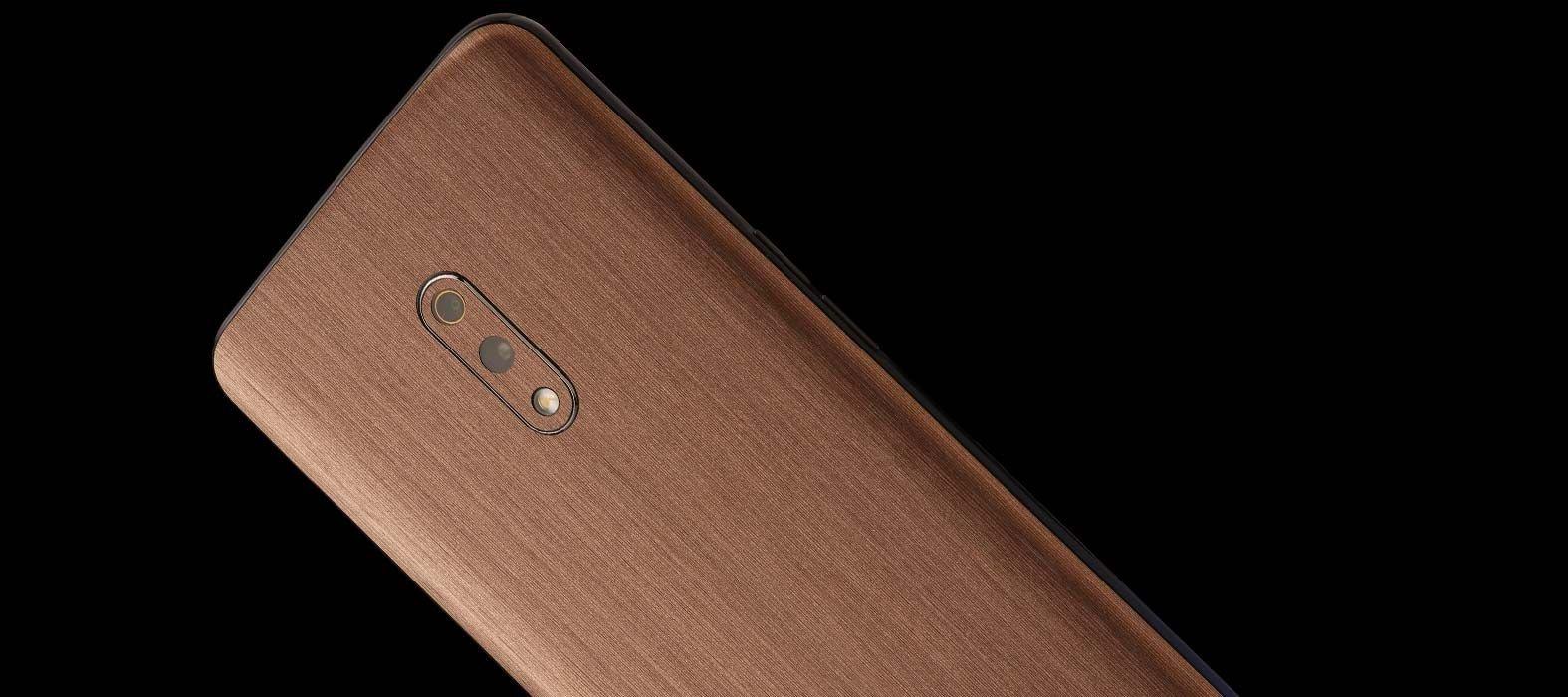 Realme X Brushed Copper Skins