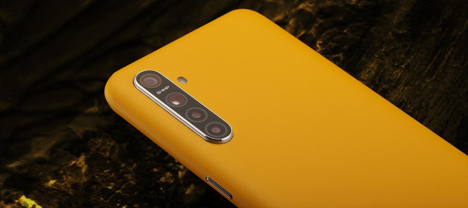Realme XT Sandstone yellow skins