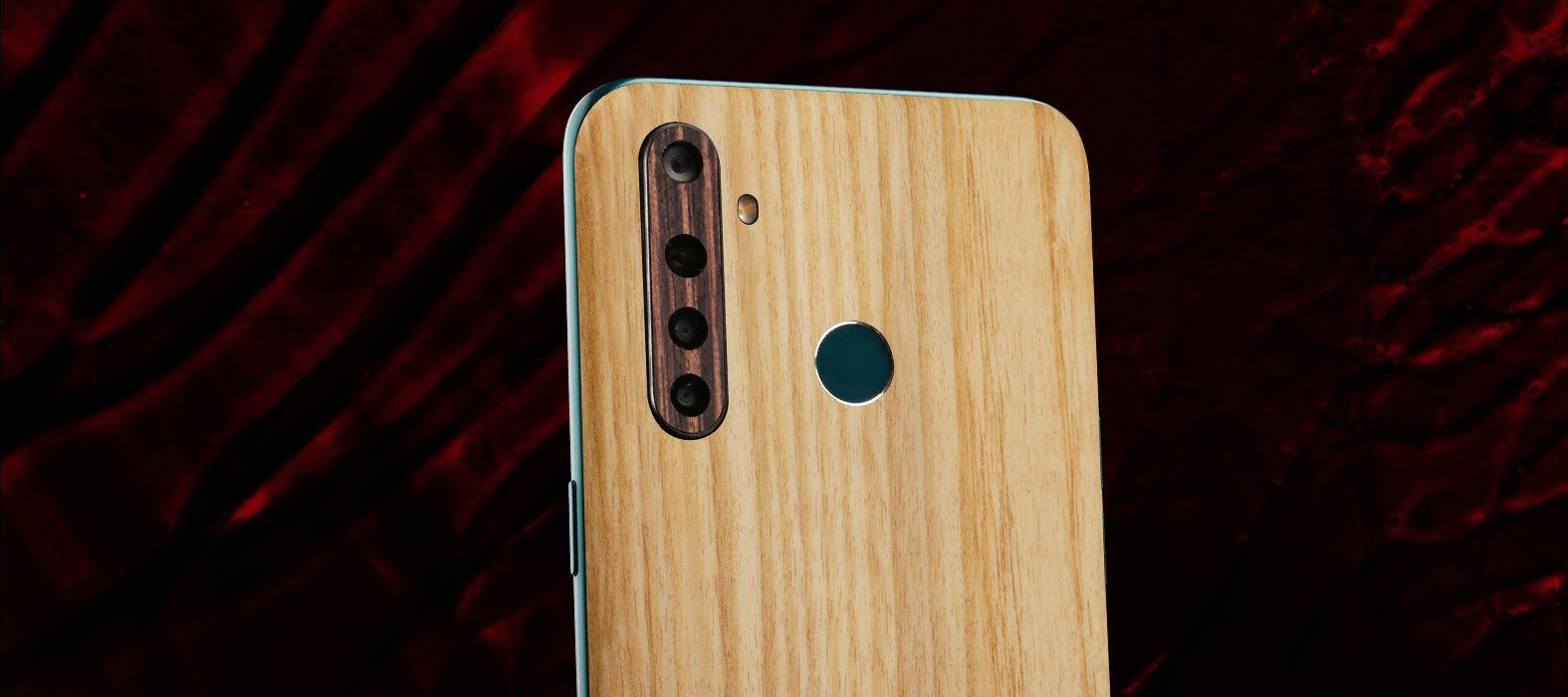 Realme 5 Pro Bamboo wood Skins