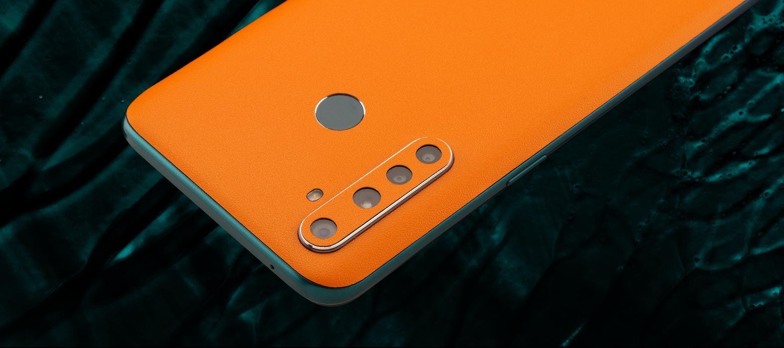 Realme 5 Pro Sandstone orange skins