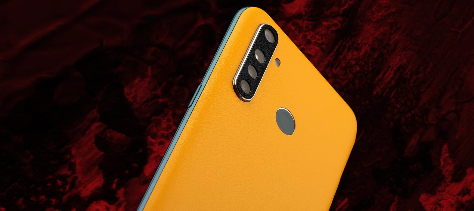Realme 5 Pro Sandstone yellow Skins