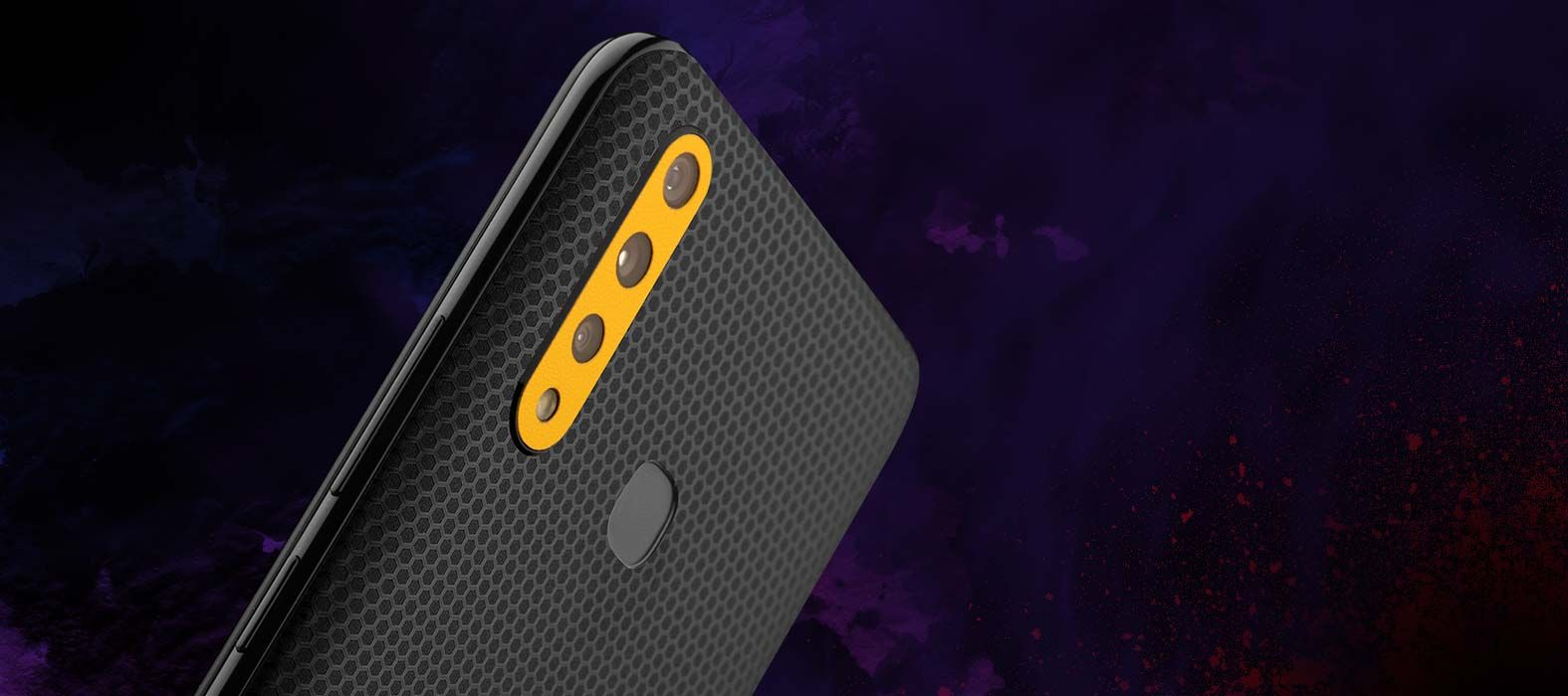 Vivo Z1 Pro Black Matrix Skins